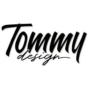 Stencil Mixed Media Tommy Design